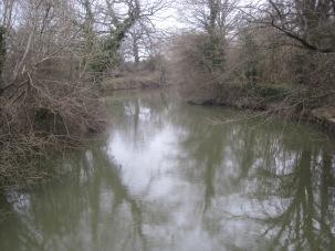 Wintery river