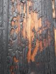 Burnt door