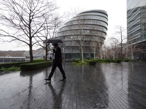 Wet Day in London