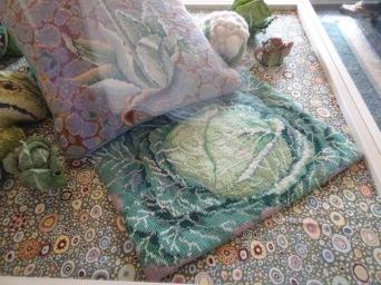 Cabbage (through glass)