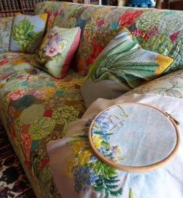 Sofa & stitching