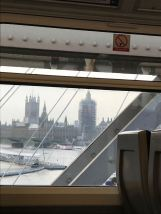 Westminster / View from the train